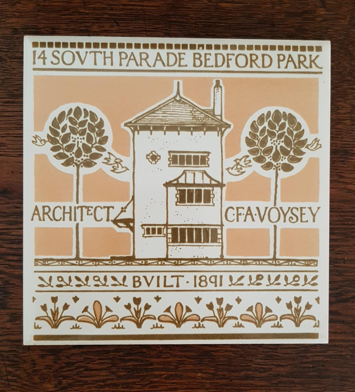 Bedford Park Arts & Crafts tiles
