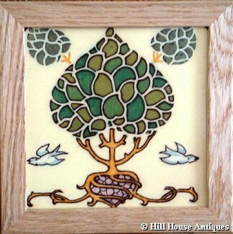 CFA Voysey style tile