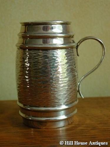 Hukin & Heath silver sugar shaker