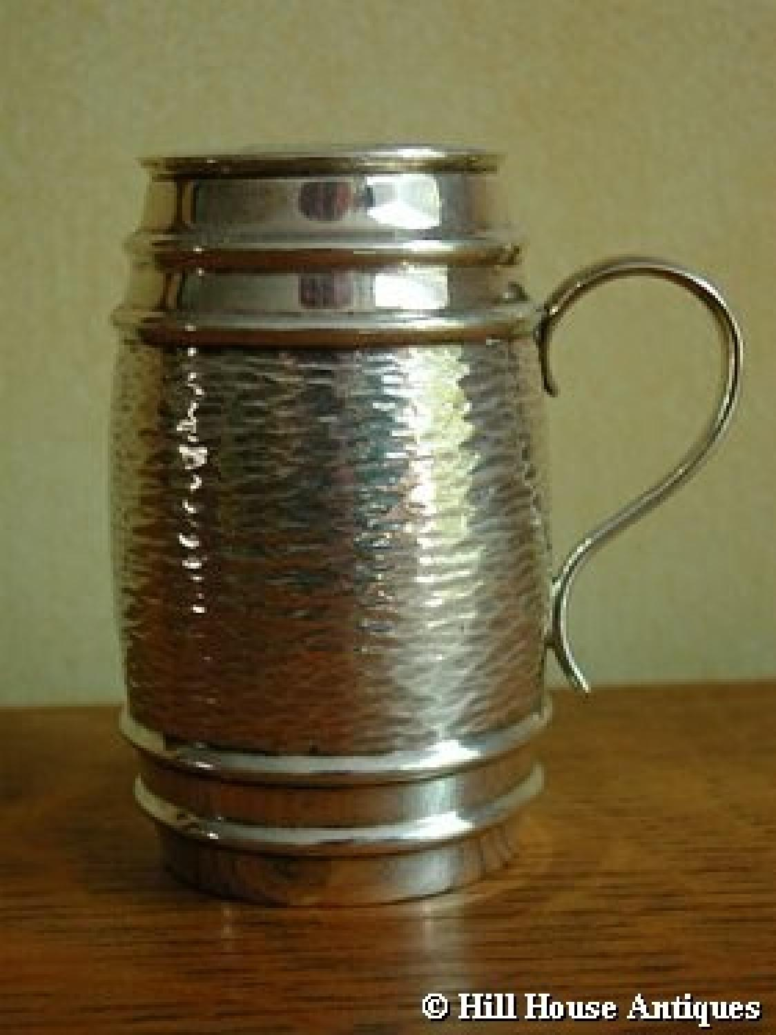 Hukin & Heath silver sugar shaker