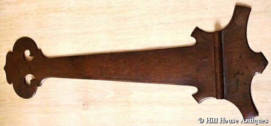 Arts & Crafts CE Thompson copper hinge