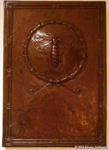Keswick School bee plaque