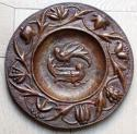 John Pearson copper bird charger - picture 1