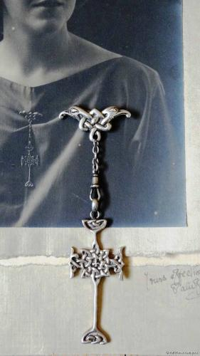 Alexander Ritchie Iona Patuffa silver brooch
