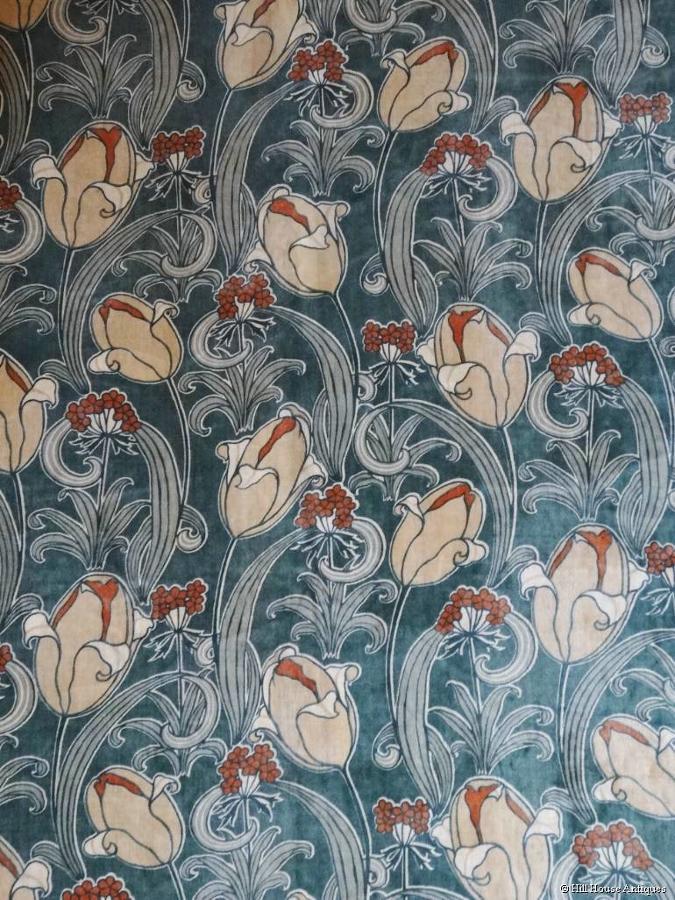 Silver Studio textile panel