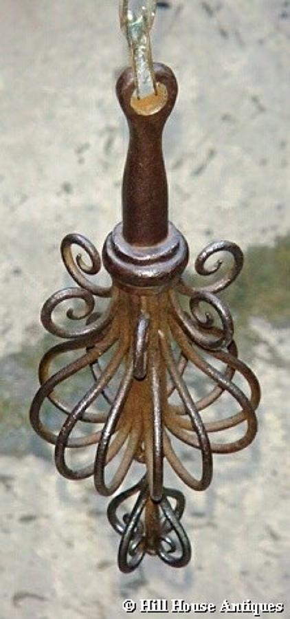 Hand forged Arts & Crafts bell pull