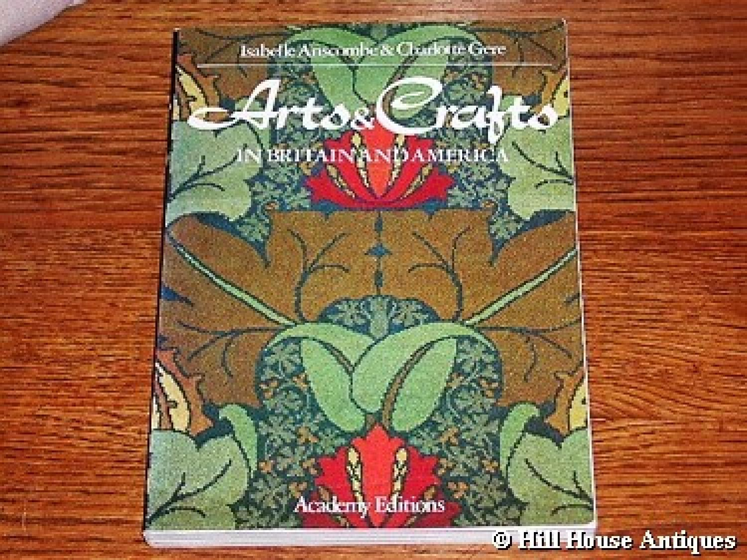 Arts & Crafts o/p book