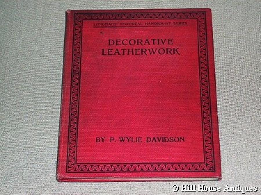 P Wylie Davidson leatherwork book