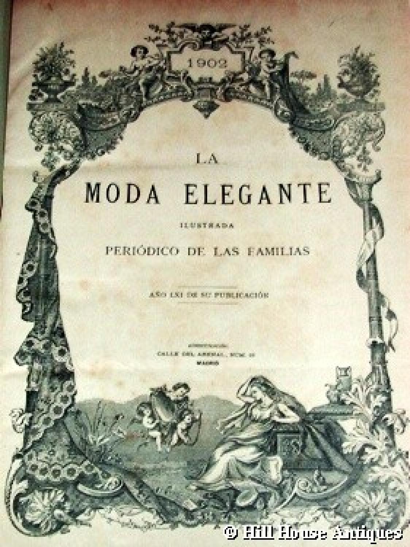 La Moda Elegante 1902 - Spanish Art Nouveau