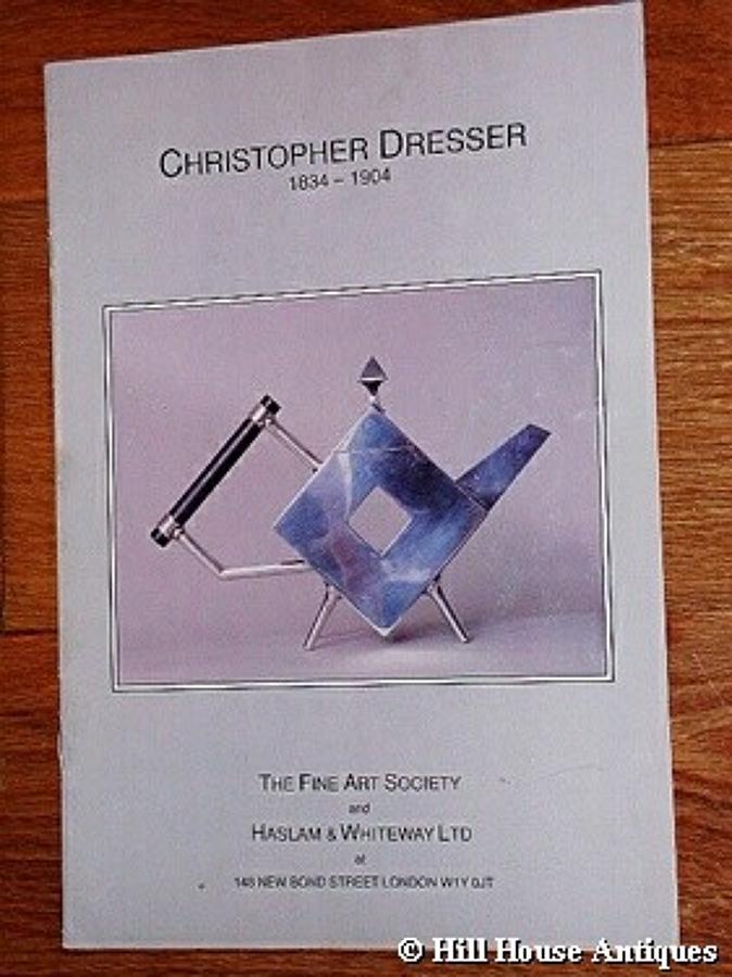 Christopher Dresser FAS exh. catalogue