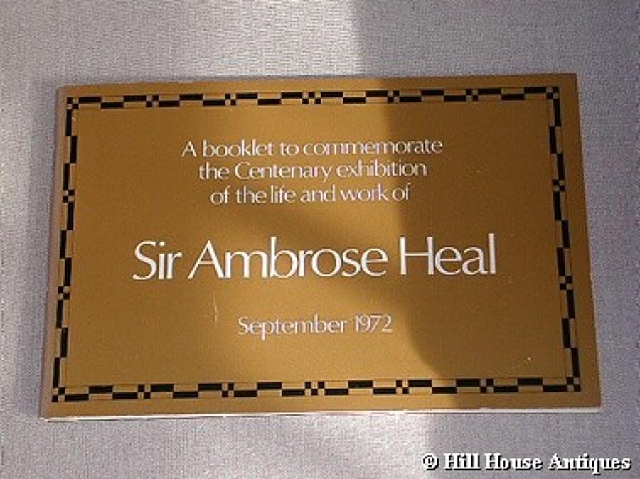 Ambrose Heal Centenary exh catalogue