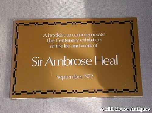 Ambrose Heal Centenary exh catalogue