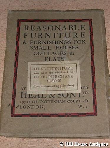 Heal & Son 1934 catalogue