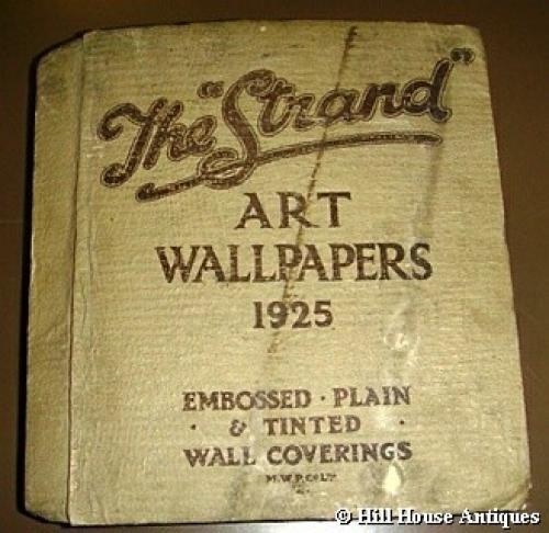 1925 Original Art Wallpaper sample book