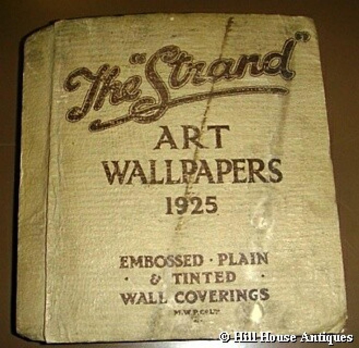 1925 Original Art Wallpaper sample book