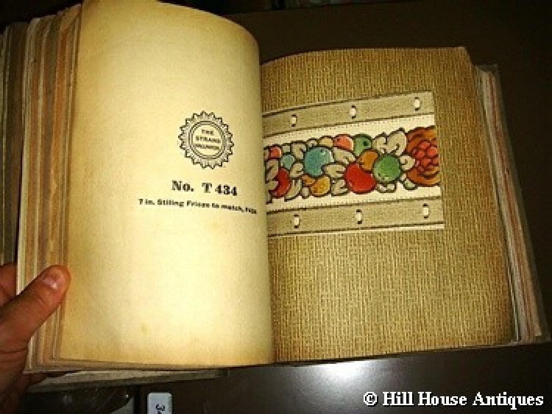 1925 Original Art Wallpaper sample book in Books - catalogues