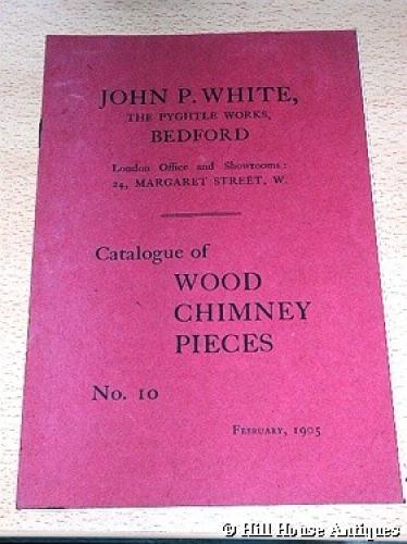 JP White Pyghtle fireplaces catalogue