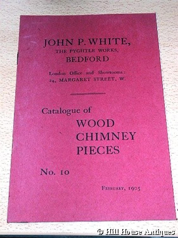JP White Pyghtle fireplaces catalogue