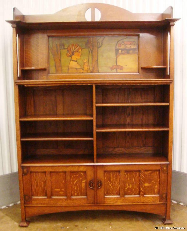 Rare Shapland & Petter bookcase