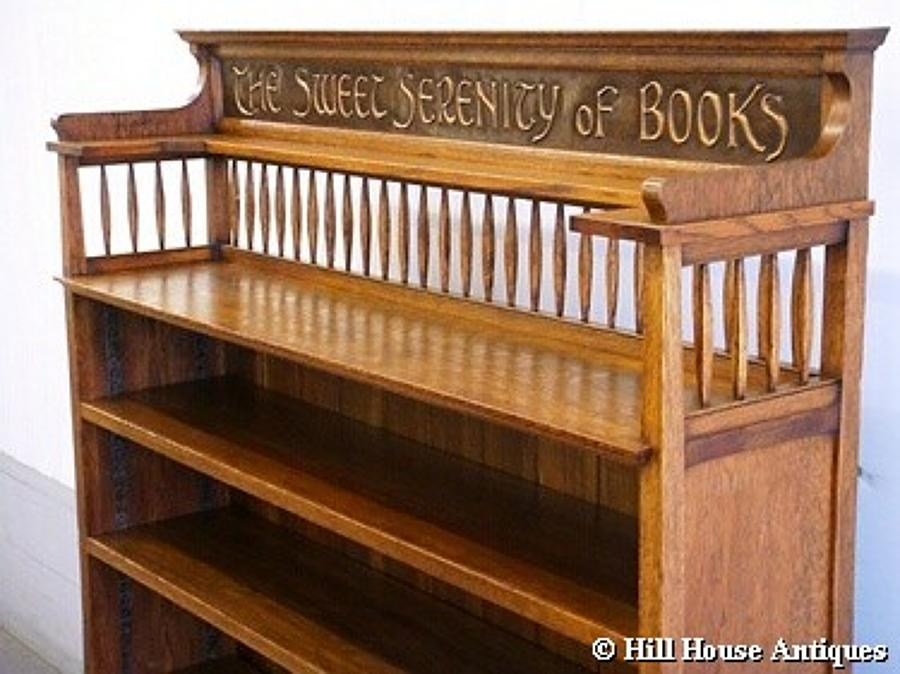 Shapland & Petter motto bookcase 2
