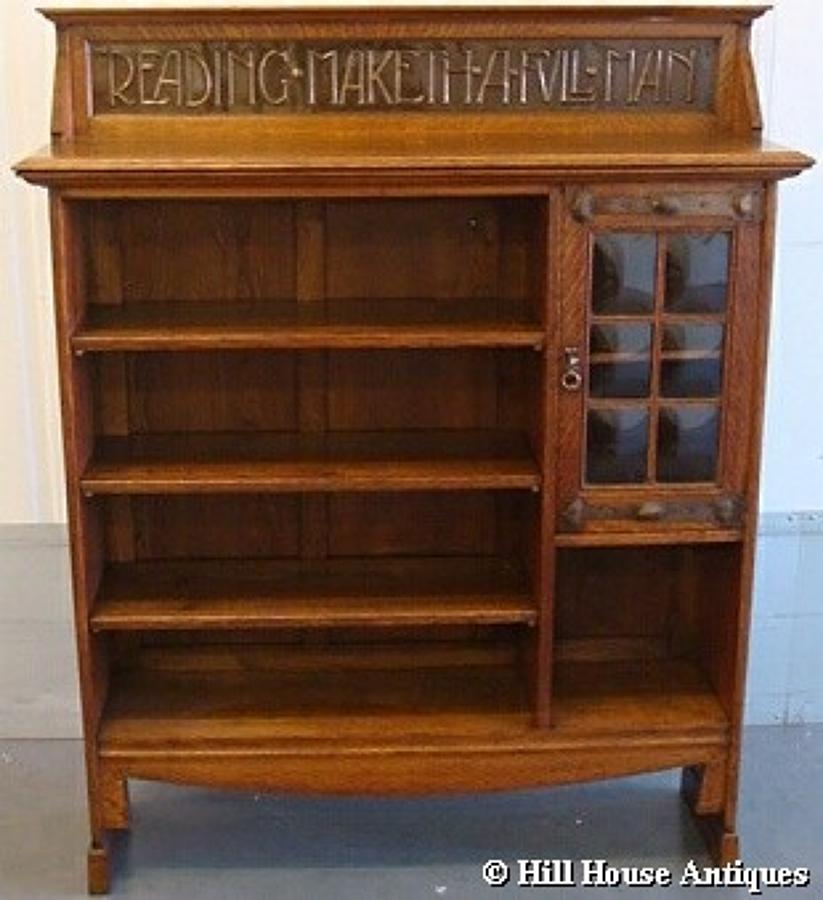 Shapland & Petter motto bookcase 1