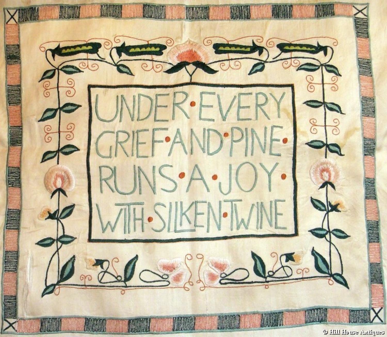 Jessie Newberry Glasgow Style cushion cover