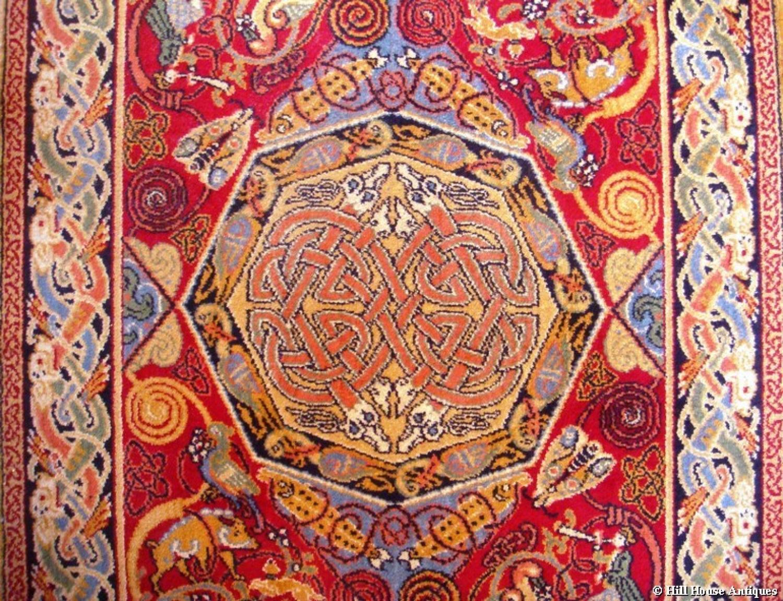 George Bain celtic rug