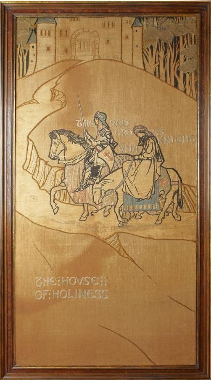 Rare Bromsgrove Guild Mary Newill textile pan