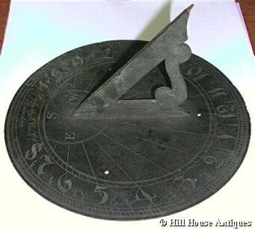Rare Liberty & Co bronze sundial