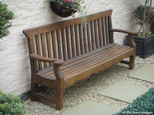 John P White garden seat Pyghtleworks
