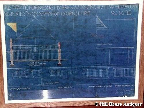 CFA Voysey architectural blueprint 1