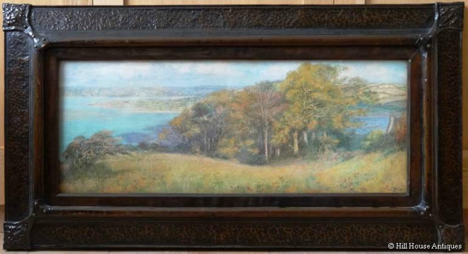 Edward Steel Harper Arts & Crafts frame paint
