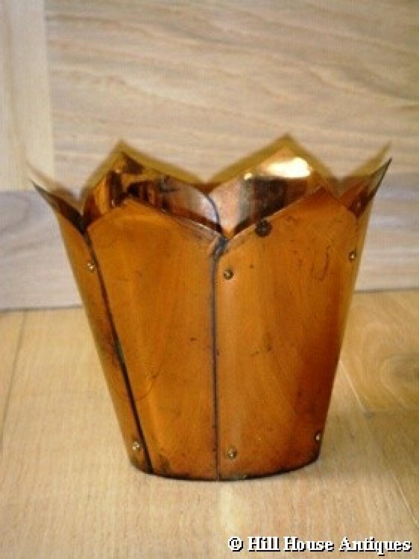 WAS Benson small copper plant holder