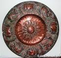 Rare John Pearson copper charger - picture 1