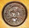 Rare John Pearson large copper bowl - picture 1