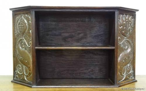 Arts & Crafts table top bookcase Pearson