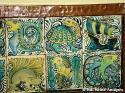 Rare John Pearson tiled tray - picture 3