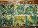Rare John Pearson tiled tray - picture 4
