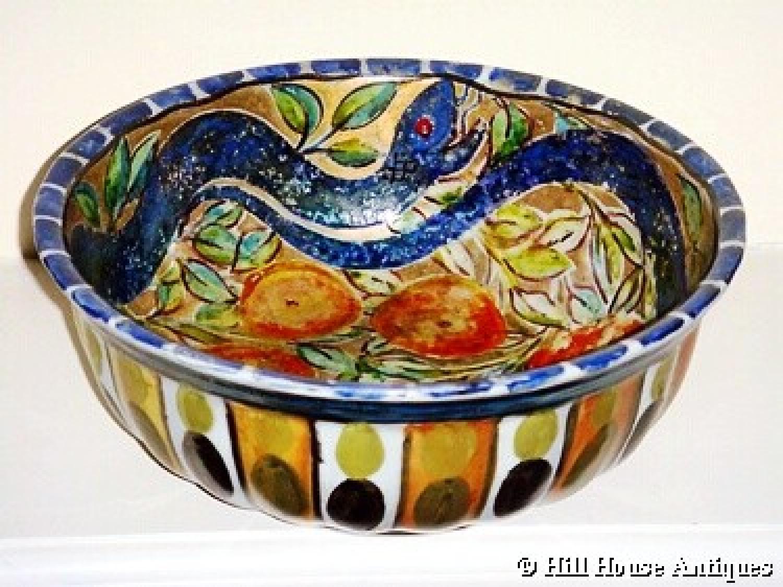 John Pearson lustre fruit bowl