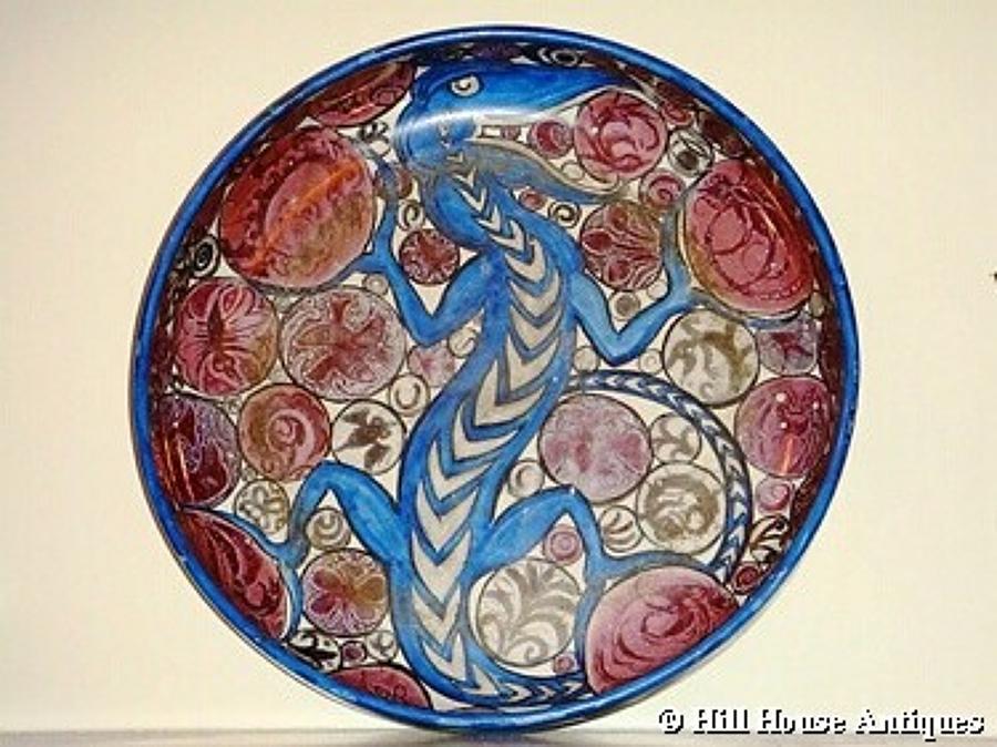 Large John Pearson lustre bowl