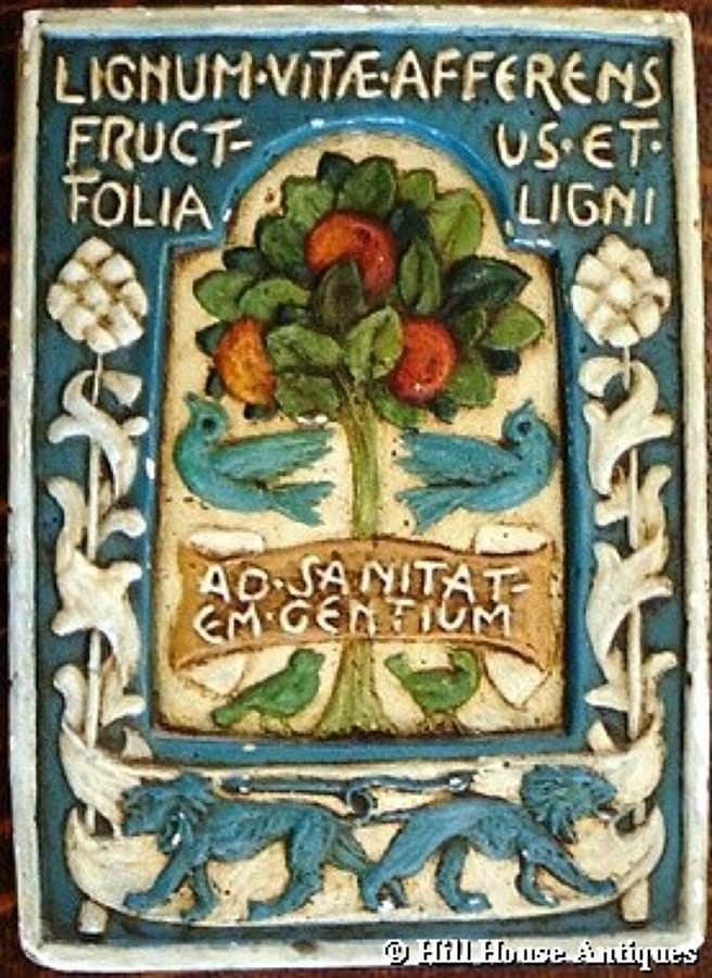 Rare Godfrey Blount talisman tablet