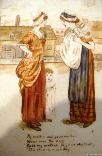 Kate Greenaway set of tiles