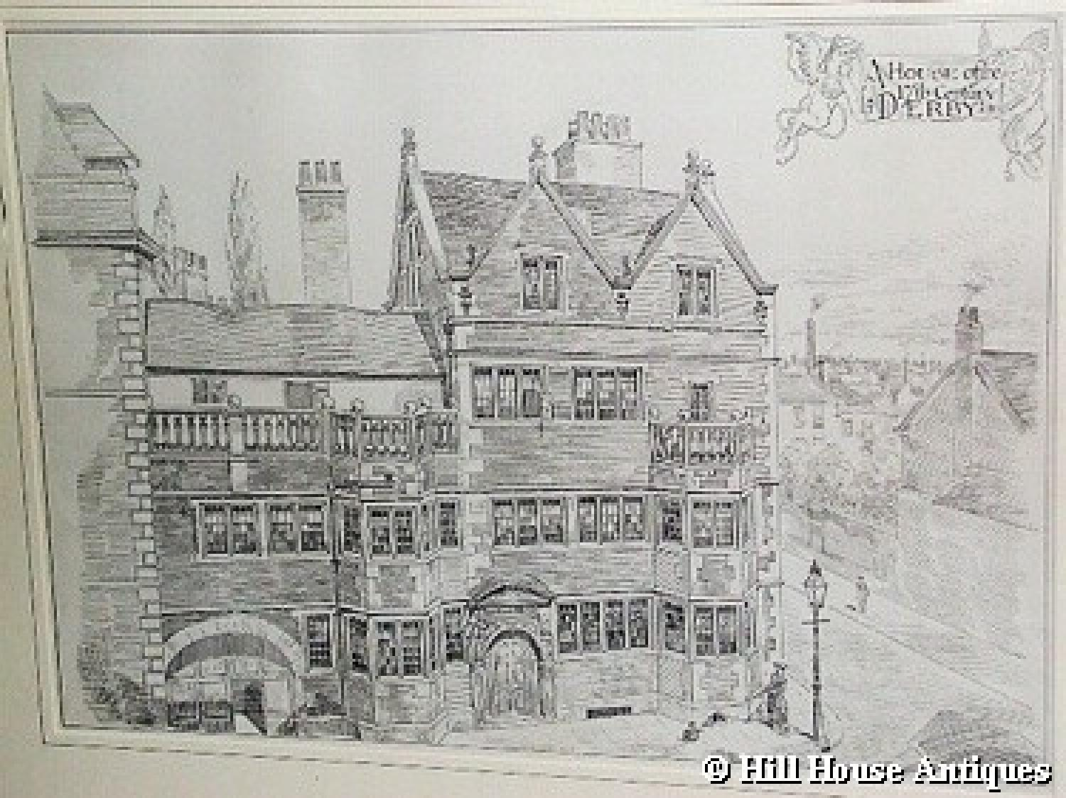Rare WR Lethaby drawing 1