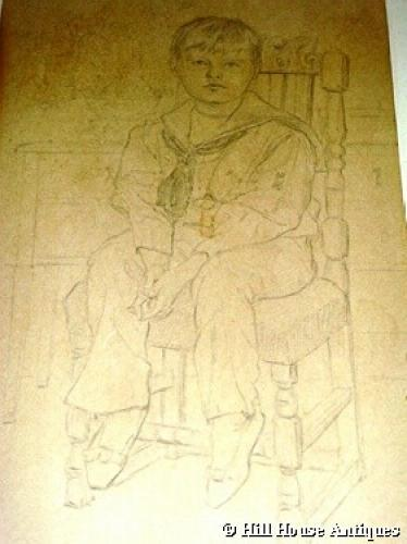 Glasgow School Ann Macbeth drawing