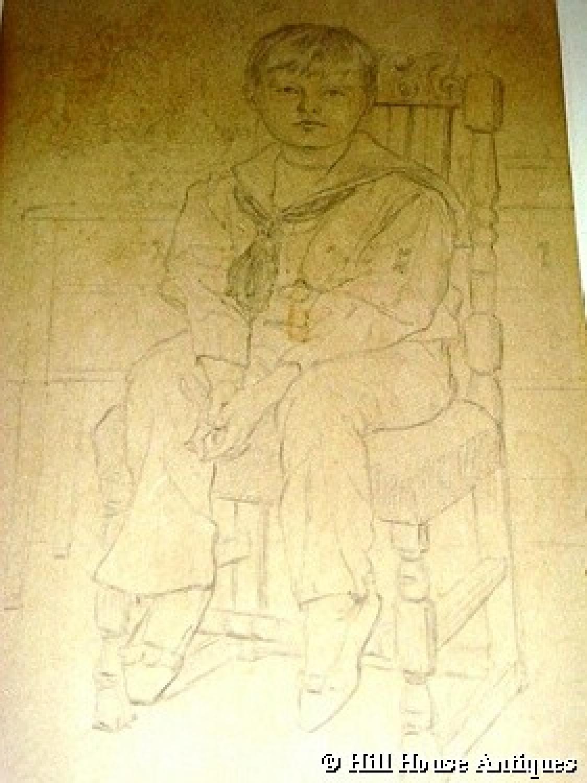 Glasgow School Ann Macbeth drawing