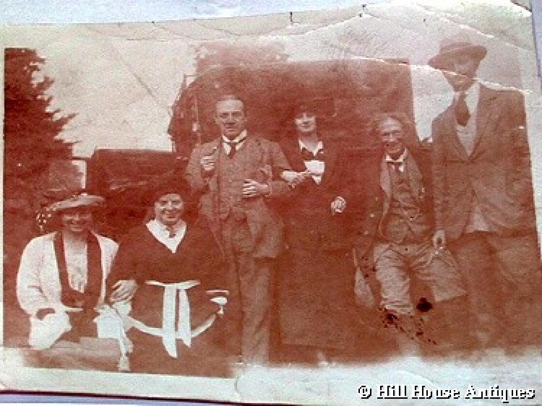 WAS Benson/Sir Stanley Baldwin photo drawing