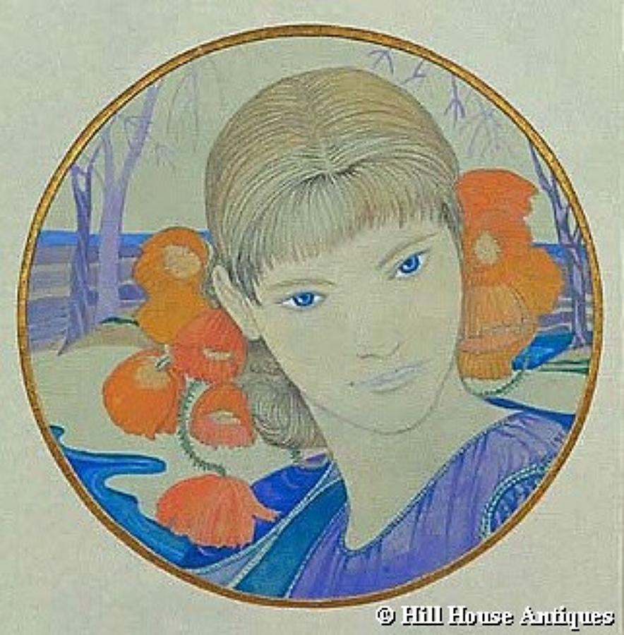 Glasgow Cecile Walton watercolour