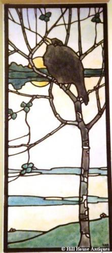 EA Taylor stained glass design