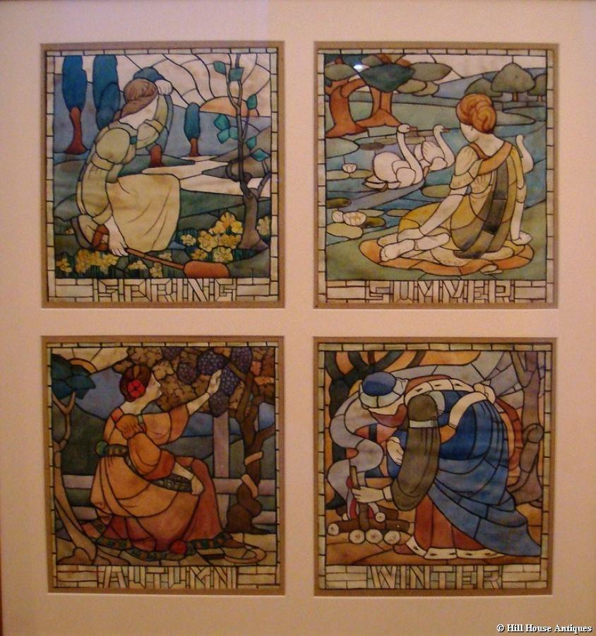 Arts & Crafts 4 seasons w/c