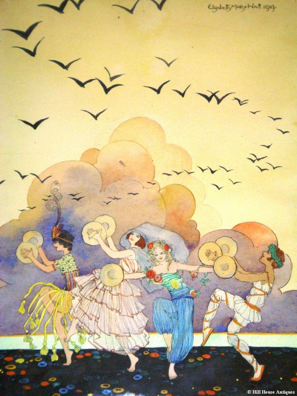 Elizabeth Mary Watt watercolour